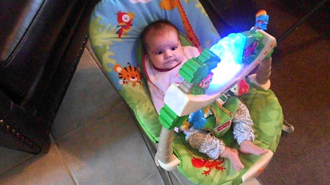 fisher price rainforest bouncer review