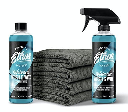 pure wax waterless wash review