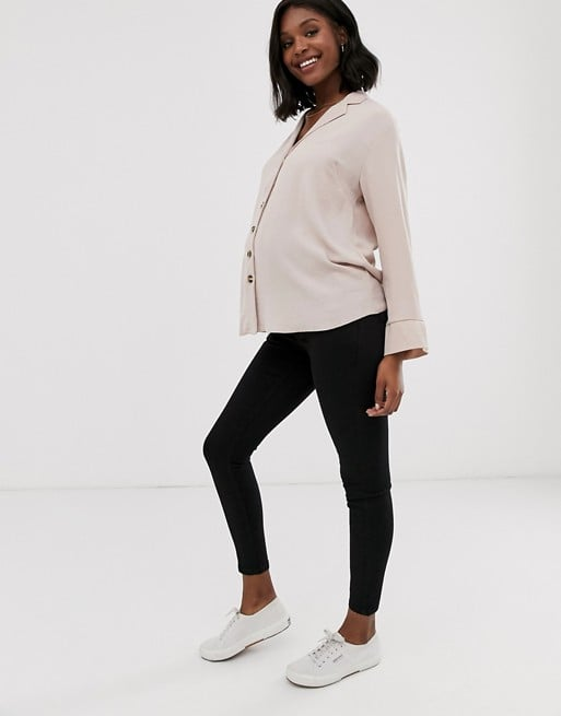 asos ridley maternity jeans review