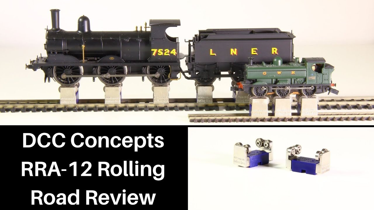 dcc concepts rolling road review