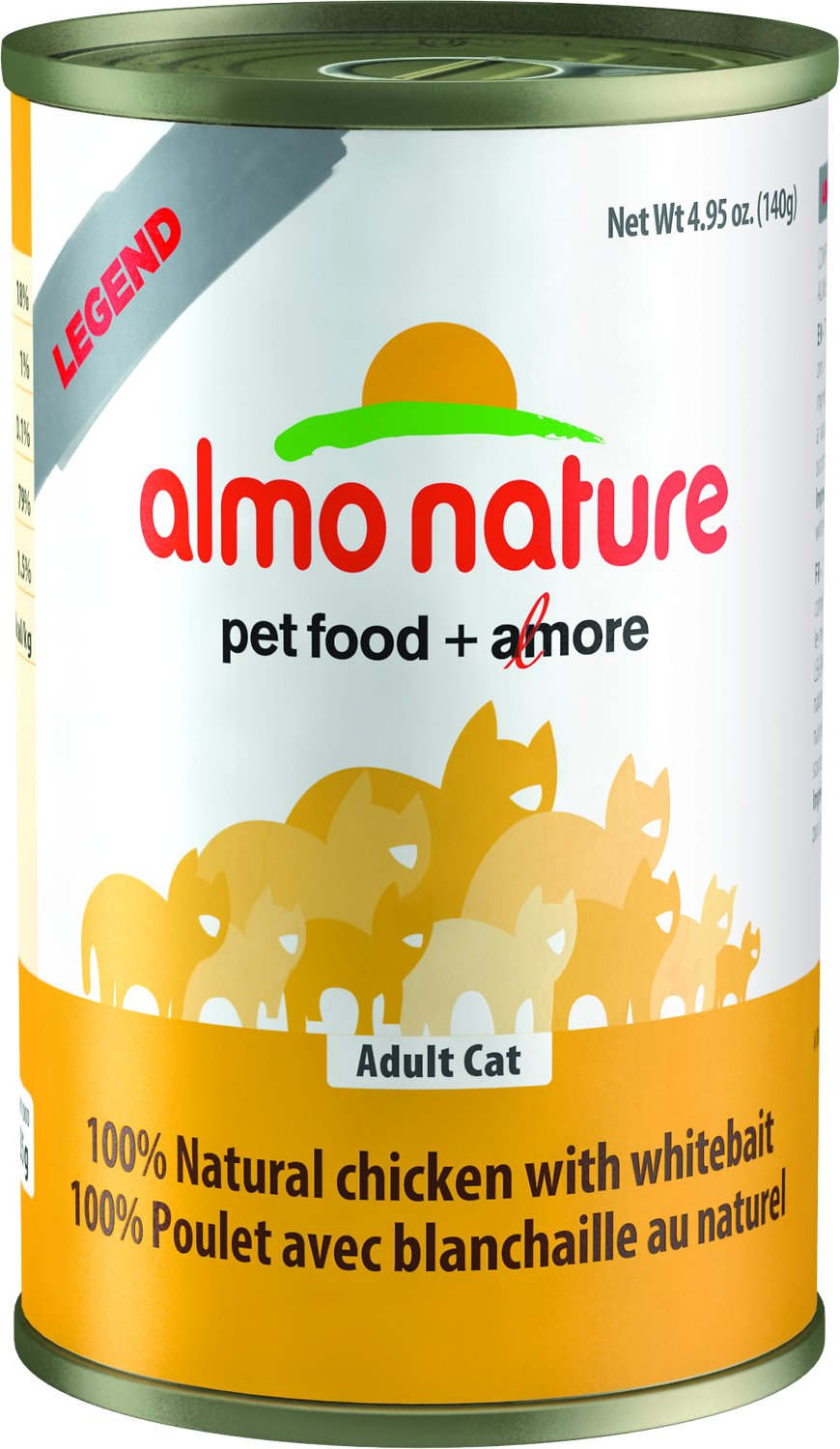 almo nature cat food review