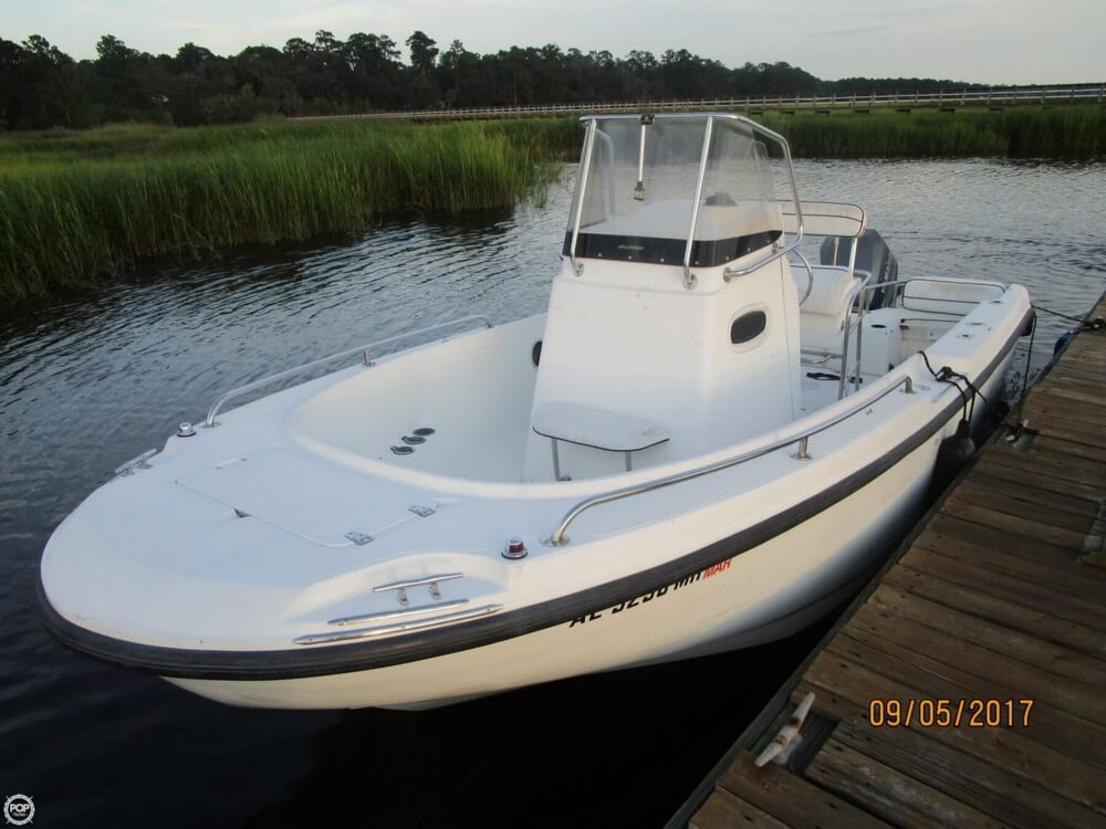 boston whaler 21 outrage review