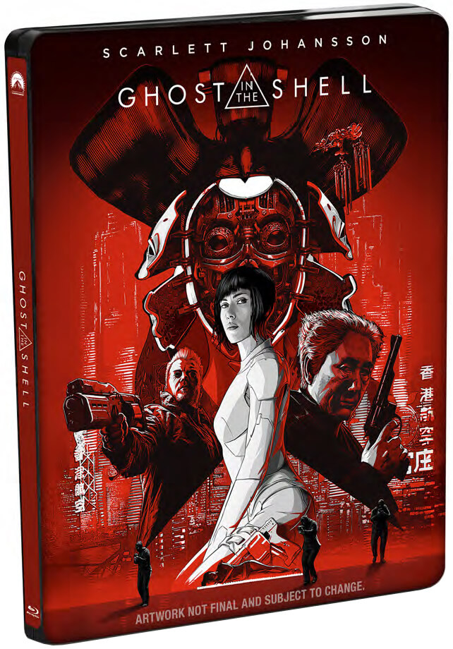 ghost in the shell 3d review