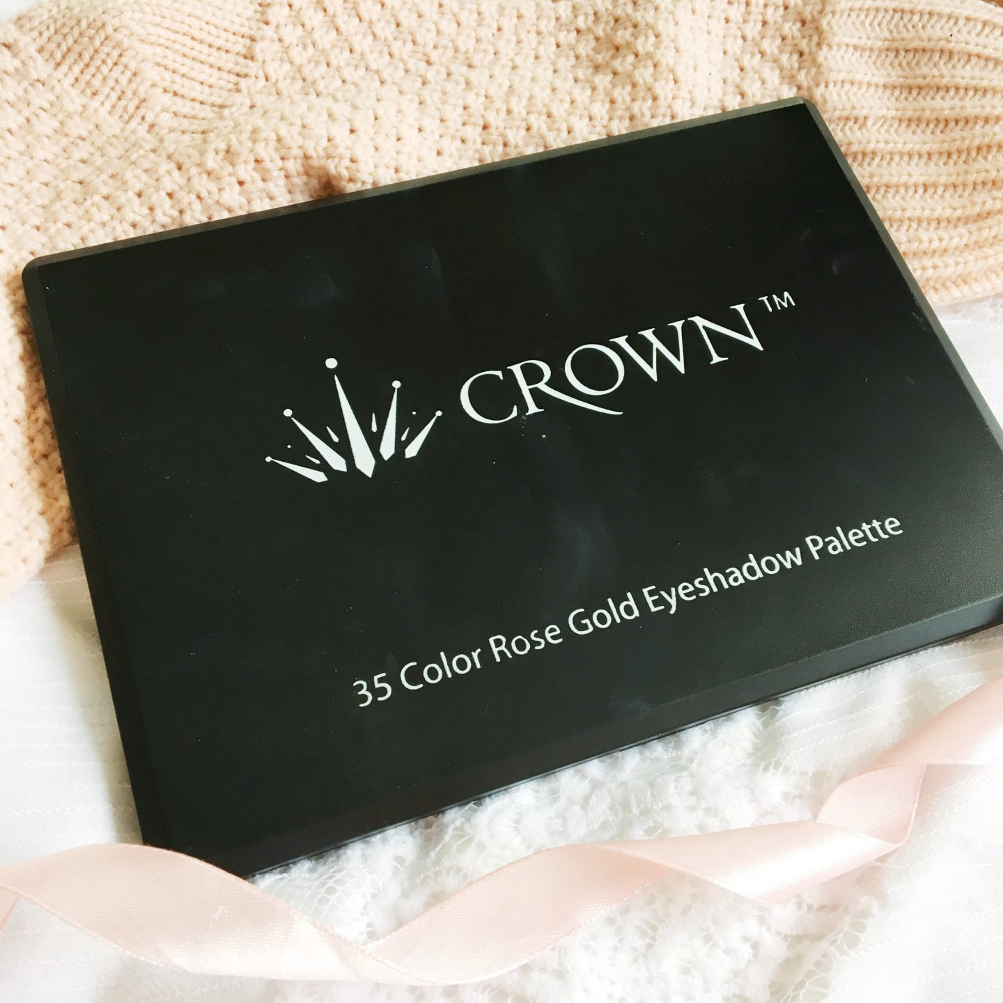 crown rose gold palette review